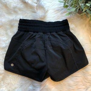 Lululemon Black Hotty Hot Shorts Size 4